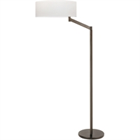 "Picture for category Floor Lamps 1 Light Bulb Fixture With Coffee Bronze Finish Medium 14"" 150 Watts"