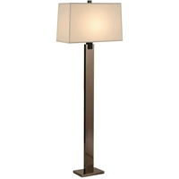 "Picture for category Floor Lamps 1 Light Bulb Fixture With Black Nickel Tone Finish A19 10"" 150 Watts"