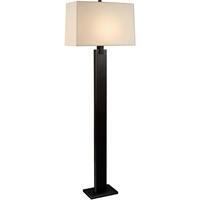 "Picture for category Floor Lamps 1 Light Bulb Fixture With Black Brass Tone Finish A19 10"" 150 Watts"