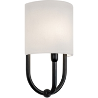 "Picture for category Wall Sconces 1 Light Bulb Fixture With Rubbed Bronze Finished E-12 7"" 60 Watts"