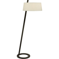 "Picture for category Floor Lamps 2 Light Bulb Fixture With Black Bronze Tone Finish A19 24"" 120 Watts"