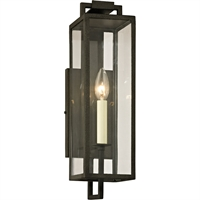 Picture for category Troy Lighting B6381 Wall Sconces Forged Iron Hand-Worked Iron / Glass Beckham