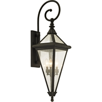 Picture for category Troy Lighting B6473 Wall Sconces Vintage Bronze Hand-Worked Iron / Glass Genea