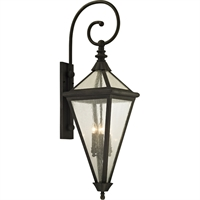 Picture for category Troy Lighting B6474 Wall Sconces Vintage Bronze Hand-Worked Iron / Glass Genea