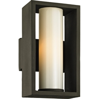 Picture for category Troy Lighting B6491 Wall Sconces Textured Bronze Solid Aluminum / Glass Mondrian