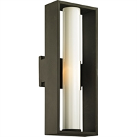 Picture for category Troy Lighting B6492 Wall Sconces Textured Bronze Solid Aluminum / Glass Mondrian