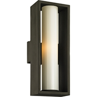 Picture for category Troy Lighting B6493 Wall Sconces Textured Bronze Solid Aluminum / Glass Mondrian