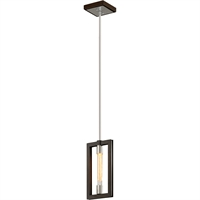 Picture for category Troy Lighting F6183 Pendants Bronze with Polished Stainless Hand-Worked Iron Enigma