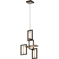 Picture for category Troy Lighting F6184 Pendants Bronze with Polished Stainless Hand-Worked Iron Enigma