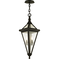 Picture for category Troy Lighting F6477 Pendants Vintage Bronze Hand-Worked Iron / Glass Genea