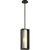 Picture for category Troy Lighting F6497 Pendants Textured Bronze Solid Aluminum / Glass Mondrian