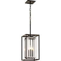 Picture for category Troy Lighting F6517 Pendants Bronze with Polished Stainless Stainless Steel / Glass Morgan