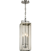 Picture for category Troy Lighting F6537 Pendants Polished Stainless Hand-Worked Iron / Glass Beckham