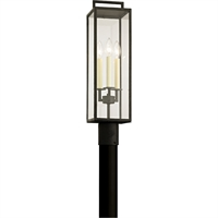 Picture for category Troy Lighting P6385 Outdoor Post Light Forged Iron Hand-Worked Iron / Glass Beckham