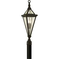 Picture for category Troy Lighting P6475 Outdoor Post Light Vintage Bronze Hand-Worked Iron / Glass Genea