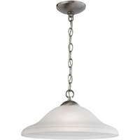Picture for category Thomas Lighting 1201PL/20 Pendants Brushed Nickel Steel,Glass Conway