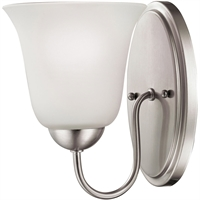 Picture for category Thomas Lighting 1201WS/20 Bath Lighting Brushed Nickel Steel,Glass Conway