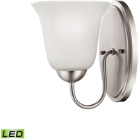 Picture for category Thomas Lighting 1201WS/20-LED Bath Lighting Brushed Nickel Steel,Glass Conway