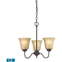 Picture for category Thomas Lighting 1203CH/10-LED Chandeliers Oil Rubbed Bronze Steel,Glass Conway