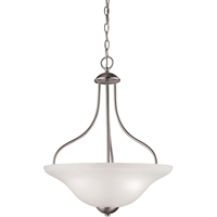 Picture for category Thomas Lighting 1203PL/20 Pendants Brushed Nickel Steel,Glass Conway