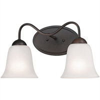 Picture for category Thomas Lighting 1252BB/10 Bath Lighting Oil Rubbed Bronze Steel,Glass Conway