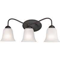 Picture for category Thomas Lighting 1253BB/10 Bath Lighting Oil Rubbed Bronze Steel,Glass Conway