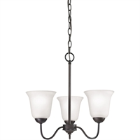 Picture for category Thomas Lighting 1253CH/10 Chandeliers Oil Rubbed Bronze Steel,Glass Conway