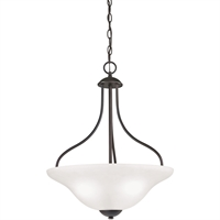 Picture for category Thomas Lighting 1253PL/10 Pendants Oil Rubbed Bronze Steel,Glass Conway