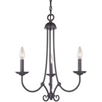 Picture for category Thomas Lighting 1503CH/10 Chandeliers Oil Rubbed Bronze Metal Williamsport