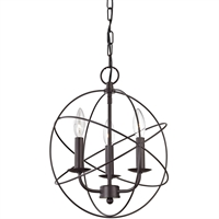 Picture for category Thomas Lighting 1513CH/10 Pendants Oiled Rubbed Bronze Metal Williamsport