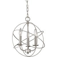 Picture for category Thomas Lighting 1513CH/20 Pendants Brushed Nickel Metal Williamsport