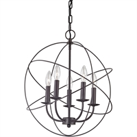 Picture for category Thomas Lighting 1515CH/10 Pendants Oil Rubbed Bronze Metal Williamsport