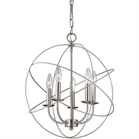 Picture for category Thomas Lighting 1515CH/20 Pendants Brushed Nickel Metal Williamsport