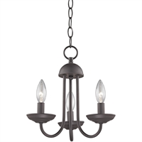 Picture for category Thomas Lighting 1523CH/10 Mini Chandeliers Oil Rubbed Bronze Metal Williamsport
