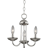 Picture for category Thomas Lighting 1523CH/20 Mini Chandeliers Brushed Nickel Metal Williamsport