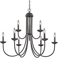 Picture for category Thomas Lighting 1529CH/10 Chandeliers Oil Rubbed Bronze Metal Williamsport