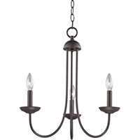 Picture for category Thomas Lighting 1533CH/10 Chandeliers Oil Rubbed Bronze Metal Williamsport