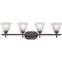 Picture for category Thomas Lighting 2204BB/10 Bath Lighting Oil Rubbed Bronze Metal,Glass Santa Fe