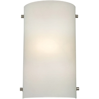 Picture for category Thomas Lighting 5161WS/99 Wall Sconces Brushed Nickel Metal,Glass Signature