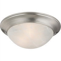 Picture for category Thomas Lighting 7303FM/20 Flush Mounts Brushed Nickel Metal,Glass Signature
