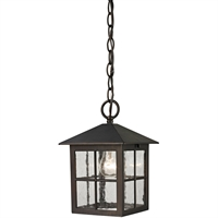 Picture for category Thomas Lighting 8201EH/70 Outdoor Pendant Hazelnut Bronze Metal,Glass Shaker Heights