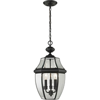 Picture for category Thomas Lighting 8603EH/60 Outdoor Pendant Black Metal,Glass Ashford