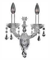 "Picture for category Wall Sconces 2 Light Bulb Fixture With Chrome Finish Candelabra Bulb 10"" 80 Watts"