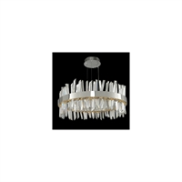 "Picture for category Pendants 1 Light Bulb Fixture With Polished Chrome Finish Integrated LED 25"" 69 Watts"