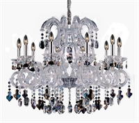 Picture for category RLA Allegri RL-275858 Chandeliers Chrome  Lorraine