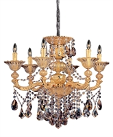 Picture for category RLA Allegri RL-275895 Chandeliers Two-tone Gold/24K  Mendelsshon