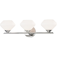 Picture for category Mitzi By Hudson Valley H136303-PN Bath Lighting Polished Nickel Steel / Glass Valerie