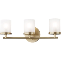 Picture for category Mitzi By Hudson Valley H239303-AGB Bath Lighting Aged Brass Steel / Glass Ryan