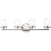 Picture for category Mitzi By Hudson Valley H239304-PN Bath Lighting Polished Nickel Steel / Glass Ryan