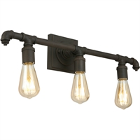 Picture for category Eglo Lighting 202841A Bath Lighting Matte Bronze Steel Wymer